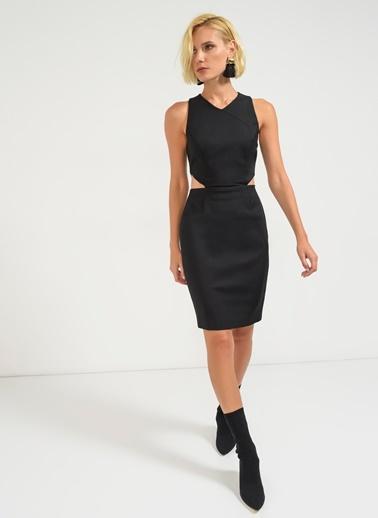 Beli Detaylı Elbise-Agenda